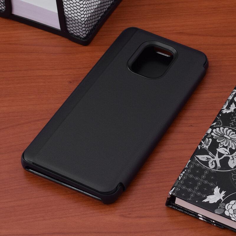 Husa Xiaomi Redmi Note 9 Pro Flip Standing Cover - Black