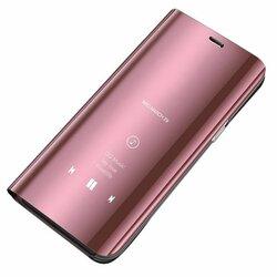 Husa Motorola Moto E7 Plus Flip Standing Cover - Roz