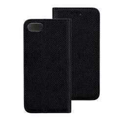 Husa Smart Book iPhone 8 Flip Negru