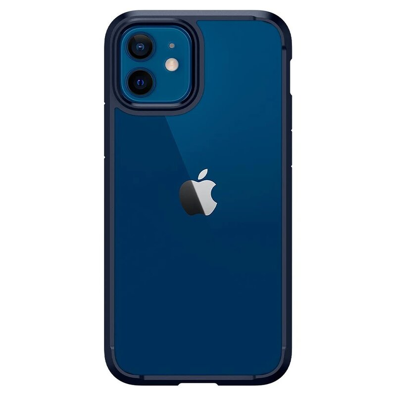 Husa iPhone 12 Spigen Ultra Hybrid Navy Blue