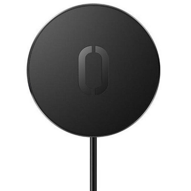 Incarcator wireless magnetic JoyRoom JR-A28, incarcare rapida, 15W, negru