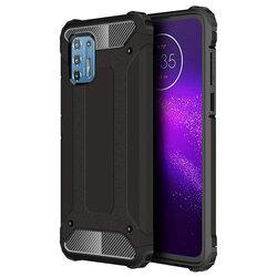 Husa Motorola Moto G9 Plus Hybrid Armor - Negru
