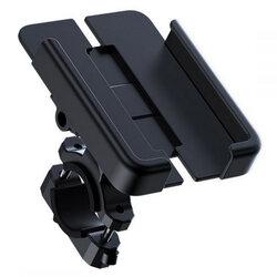 Suport telefon bicicleta JoyRoom, prindere ghidon, 360°, negru, JR-ZS252