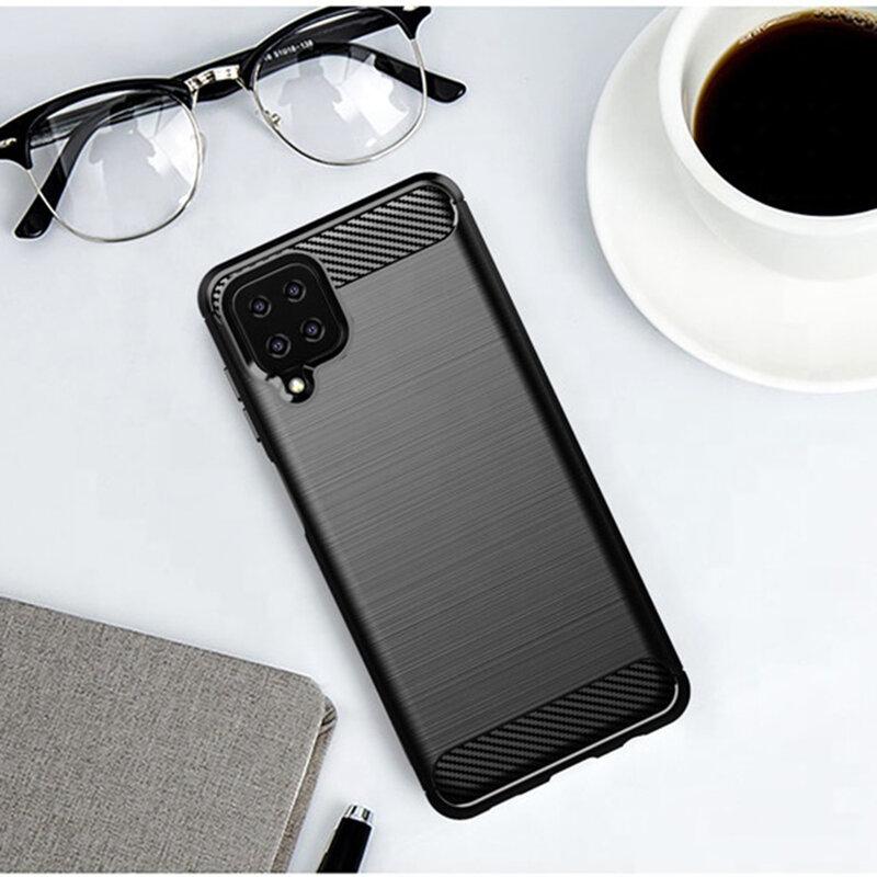 Husa Samsung Galaxy A12 TPU Carbon - Negru