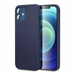Husa iPhone 12 mini ESR Cloud Flexibila Din Silicon Si Microfibra - Bleumarin