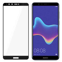 Folie Sticla Curbata Huawei Y9 2018 3Mk Hard Glass FullScreen 9H - Black