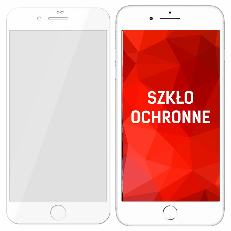 Folie iPhone SE 2, SE 2020 3mk NeoGlass Unbreakable Cu Rama - Alb