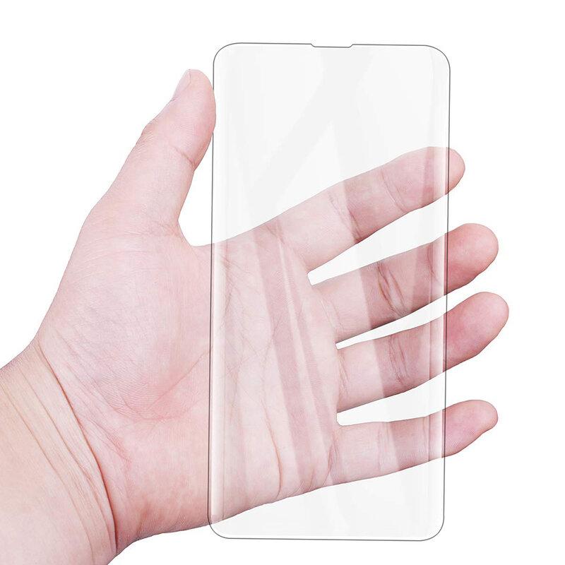 Folie Sticla Samsung Galaxy S10e Lito UV Glue 9H Cu Lampa Si Adeziv Lichid - Clear