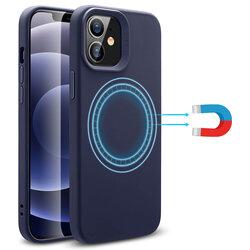 Husa iPhone 12 mini ESR Cloud Halolock, compatibila MagSafe - Bleumarin