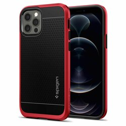 Husa iPhone 12 Pro Spigen Neo Hybrid - Rosu