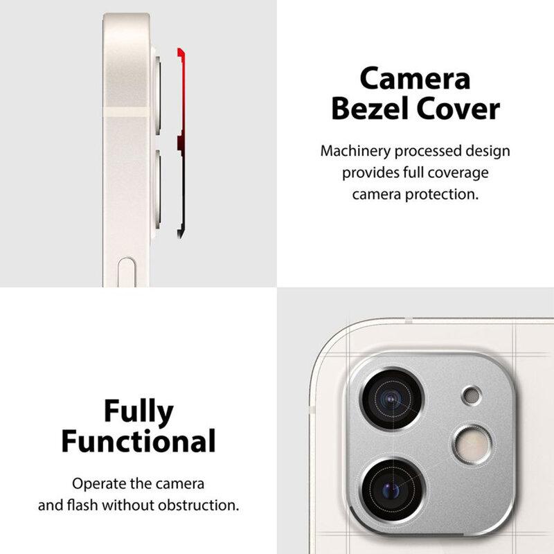 Folie Obiectiv iPhone 12 Ringke Camera Styling Din Otel Inoxidabil - Argintiu