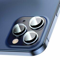 [Pachet 2x] Folie Camera iPhone 12 Pro Max Baseus Gem Lens Film - SGAPIPH61P-JT02 - Clear