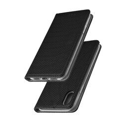 Husa Smart Book iPhone XS Flip Negru