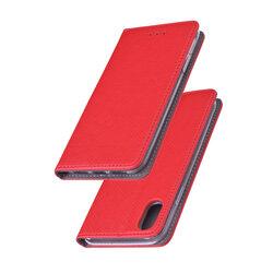 Husa Smart Book iPhone XS Flip Rosu