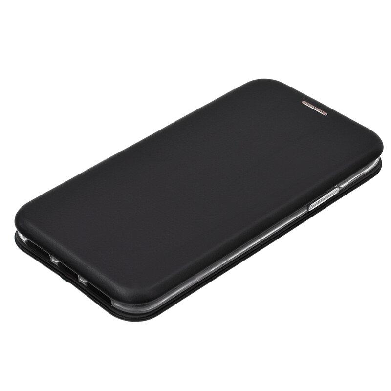 Husa iPhone XS Flip Magnet Book Type - Black
