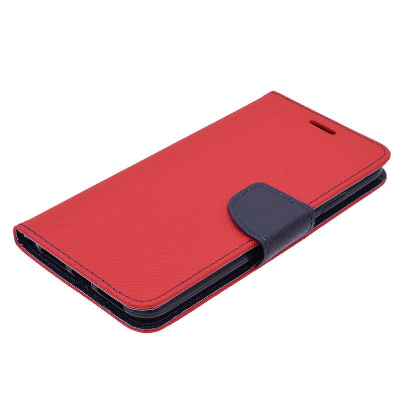 Husa iPhone XS Max Flip Rosu MyFancy