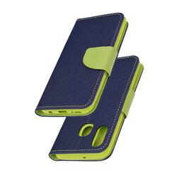 Husa Samsung Galaxy A40 Flip MyFancy - Albastru