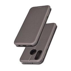 Husa Samsung Galaxy A40 Flip Magnet Book Type - Grey