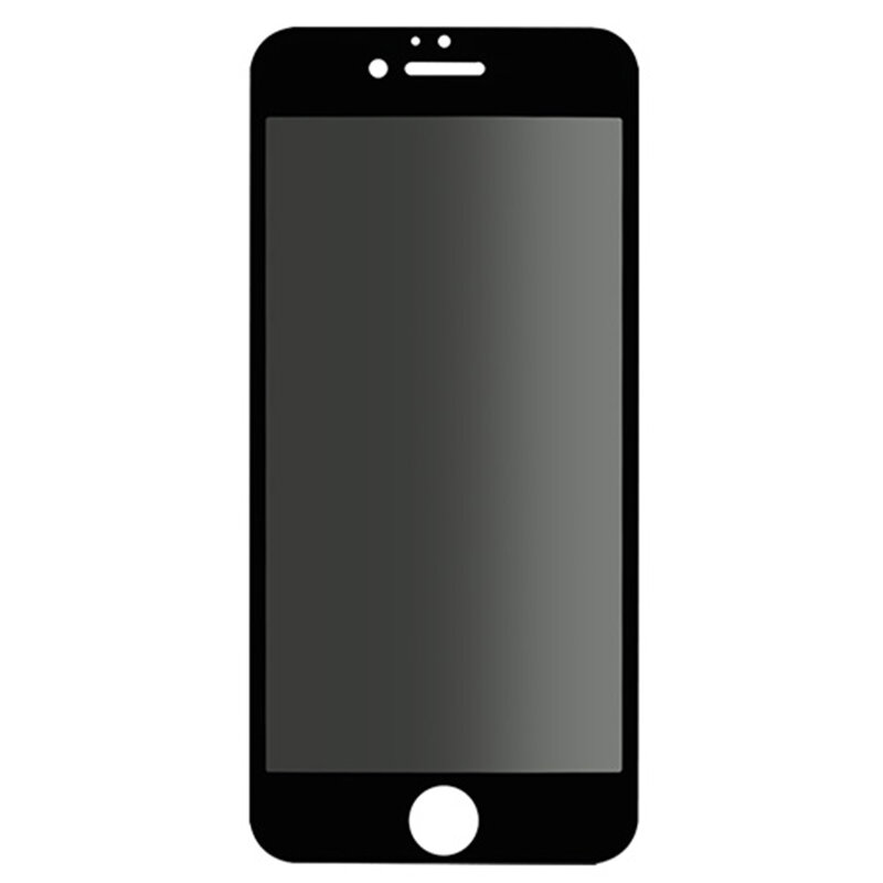 Folie Sticla iPhone 6 Plus / 6S Plus Lito Privacy Cu Rama - Negru