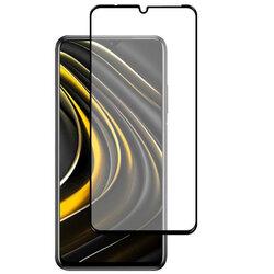 Folie Sticla Xiaomi Poco C3 Mobster 111D Full Glue Full Cover 9H - Negru