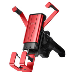 Suport auto telefon USAMS, prindere grila ventilatie, 4.7-7
