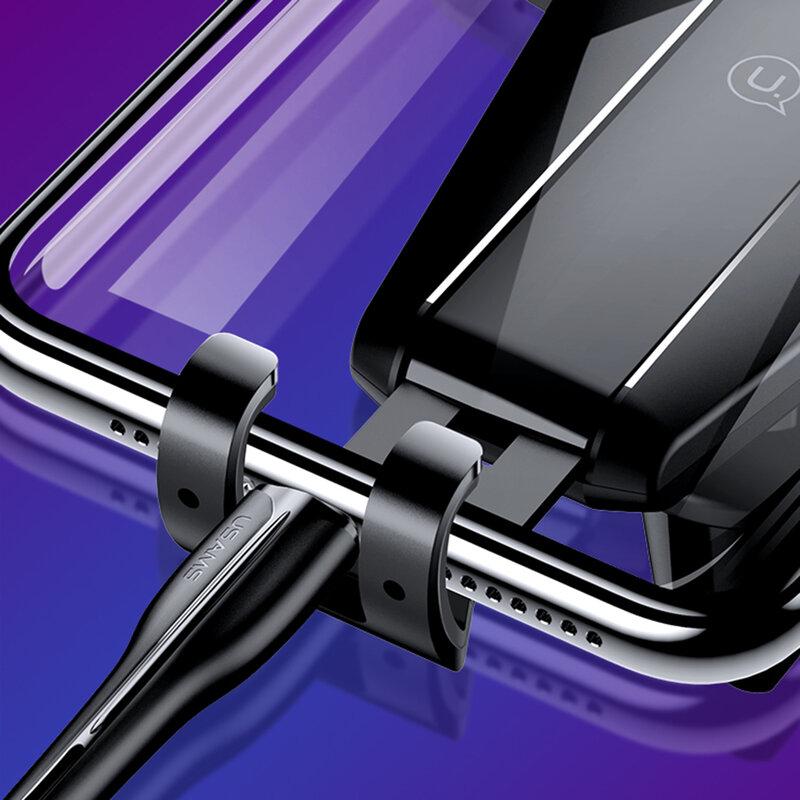 Suport auto telefon USAMS, prindere parbriz, bord, 4-5.5