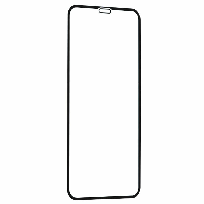 Folie Sticla iPhone XS Lito Strongest Edges Cu Rama - Negru