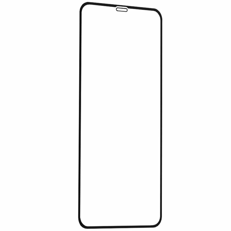 Folie Sticla iPhone XS Max Lito Strongest Edges Cu Rama - Negru