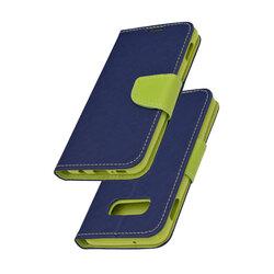 Husa Samsung Galaxy S10e Flip Albastru MyFancy