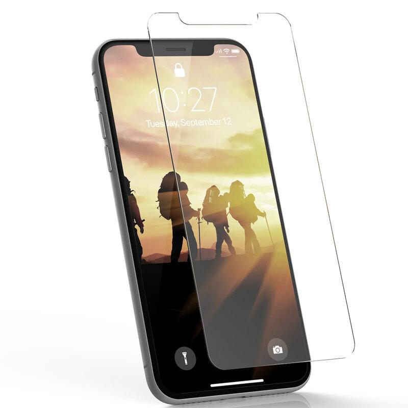 Folie sticla iPhone 12 Pro UAG rugged, 9H, transparent