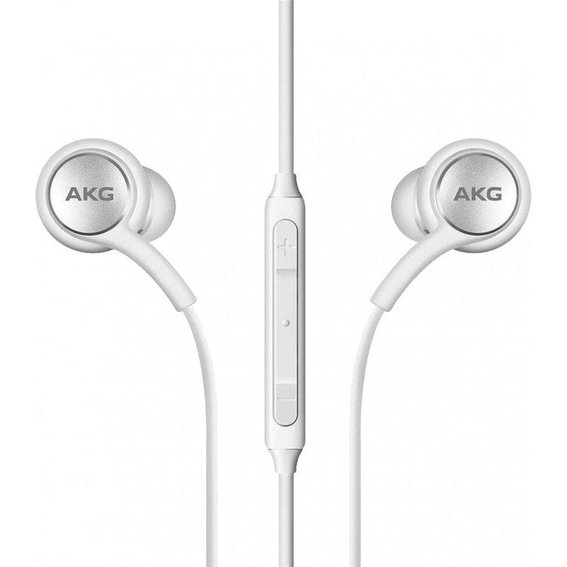 Casti in-ear originale Samsung AKG, microfon, Jack 3.5mm, alb, bulk, EO-IG955