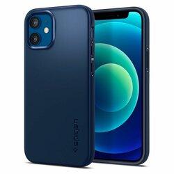 Husa iPhone 12 Spigen Thin Fit - Navy Blue