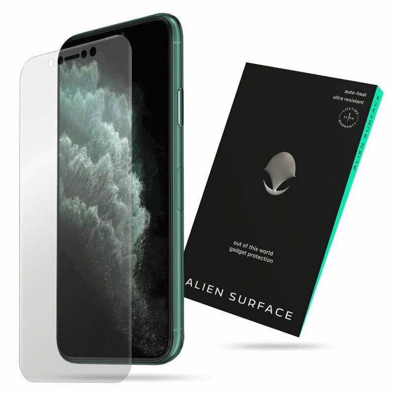 Folie Regenerabila iPhone XS Max Alien Surface XHD, Case Friendly - Clear