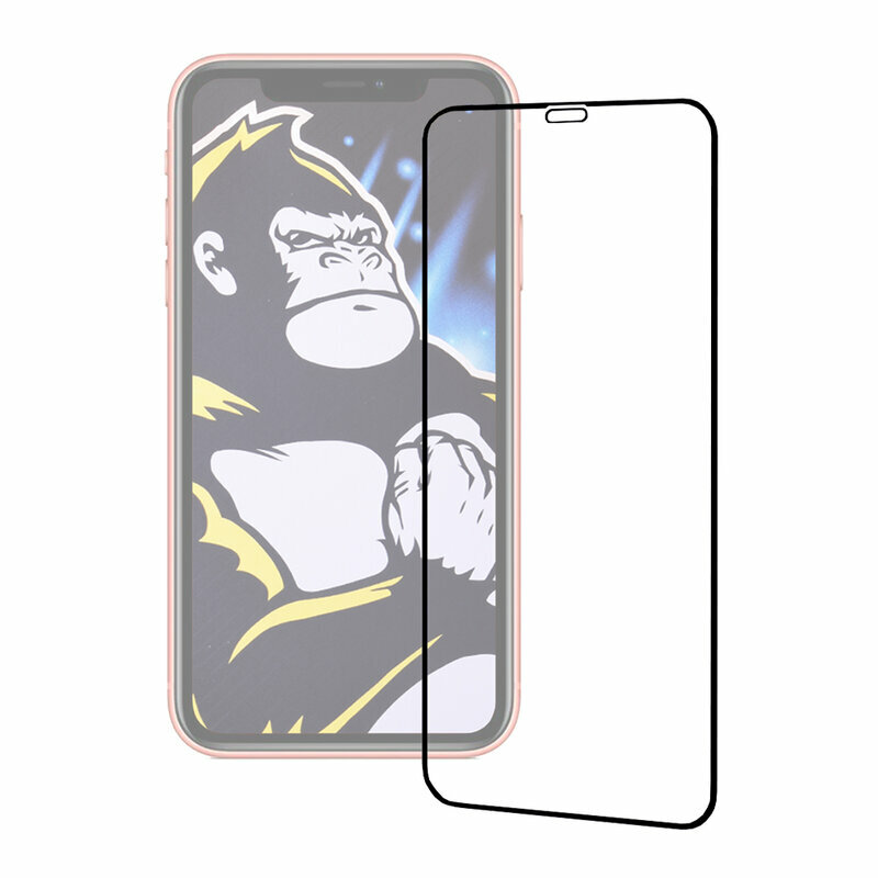 Folie iPhone 11 Pro Max Blueo Type Gorilla Glass Anti-Explode Nano - Black