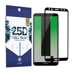 Folie Sticla Huawei Mate 10 Lite Lito 2.5D Full Glue Full Cover Cu Rama - Negru