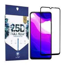Folie Sticla Xiaomi Mi 10 Lite Lito 2.5D Full Glue Full Cover Cu Rama - Negru