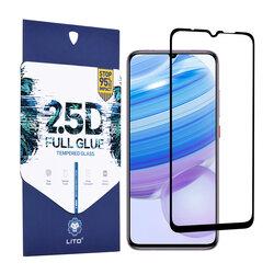 Folie Sticla Xiaomi Redmi 10X 5G Lito 2.5D Full Glue Full Cover Cu Rama - Negru