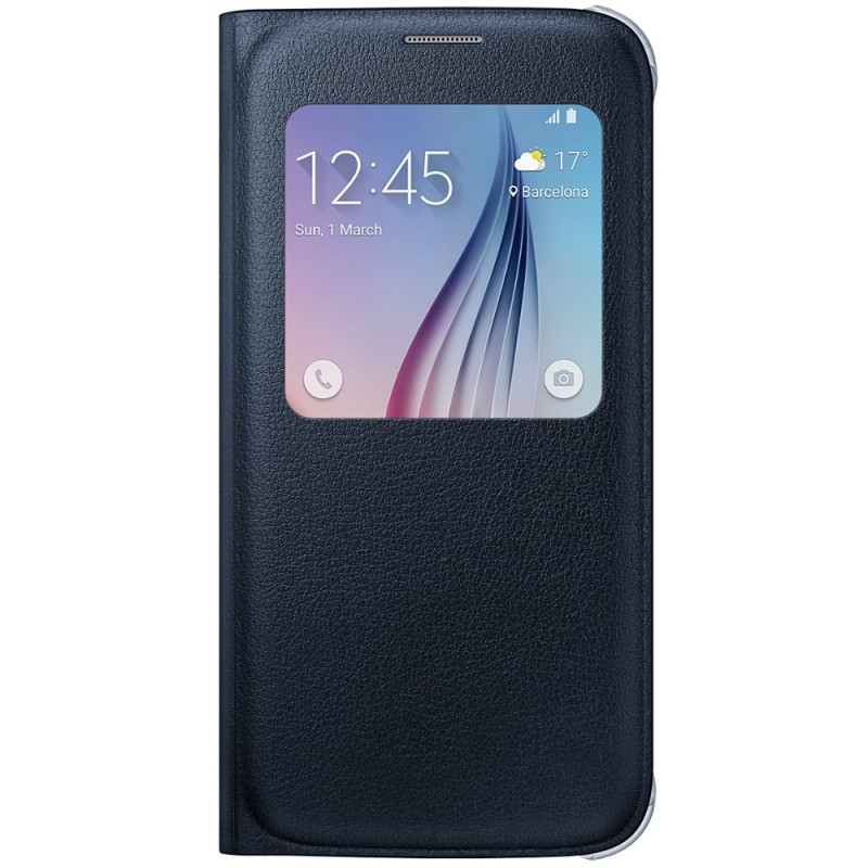 Husa Originala Samsung Galaxy S6 G920 S-View Cover Negru