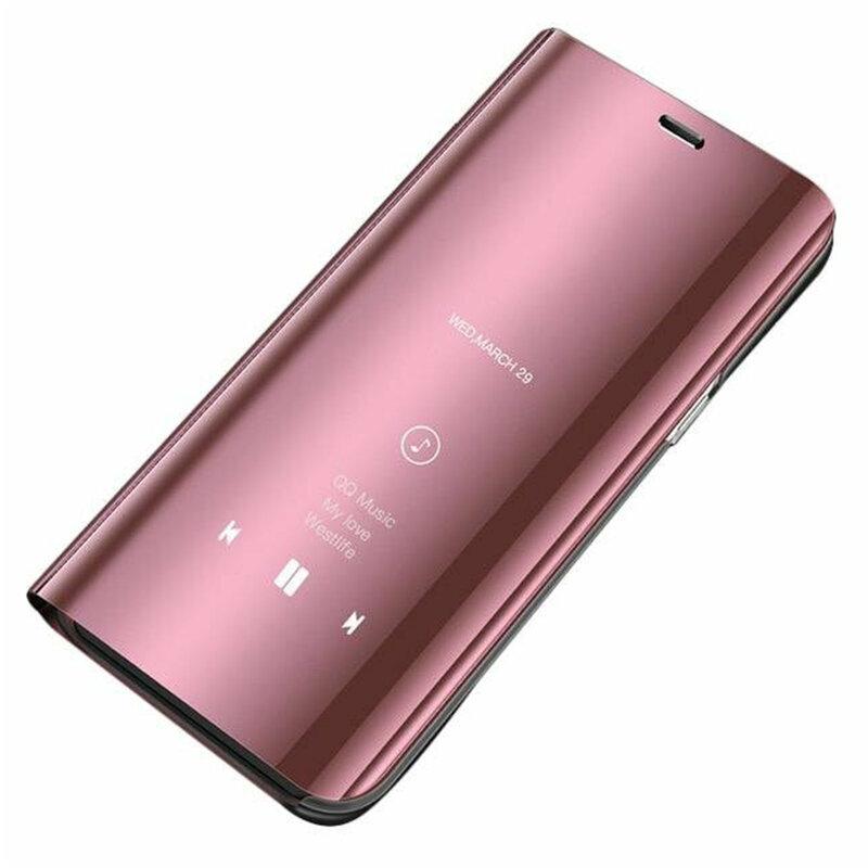 Husa Samsung Galaxy A51 Flip Standing Cover - Pink