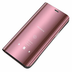 Husa Samsung Galaxy J4 Plus Flip Standing Cover - Pink