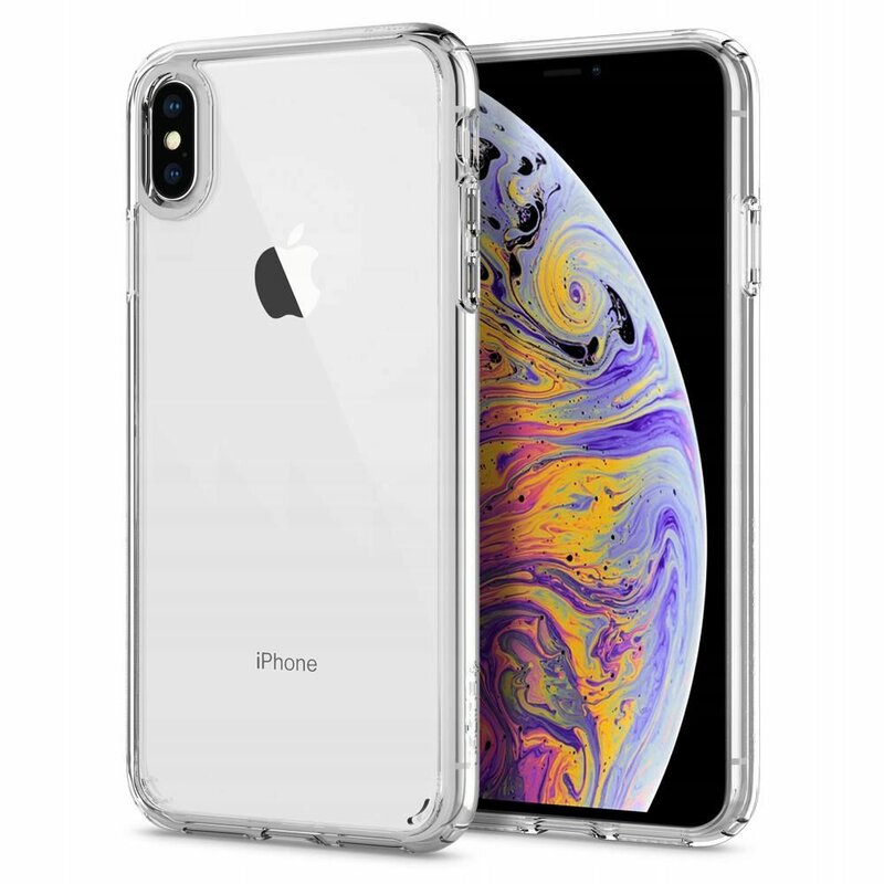 Husa iPhone XS Max Spigen Ultra Hybrid - Crystal Clear