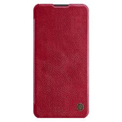 Husa Huawei P40 Pro Plus Nillkin QIN Leather - Rosu