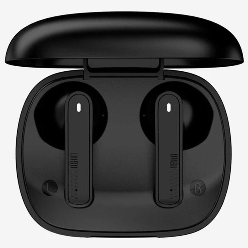 Casti in-ear wireless Uiisii TWS21, TWS earbuds, Bluetooth, microfon, negru