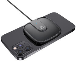 Incarcator wireless USAMS, incarcare rapida, cablu incarcare, 15W, negru, US-CD153