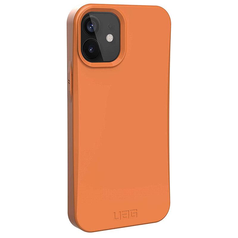 Husa iPhone 12 UAG Outback Biodegradable - Portocaliu