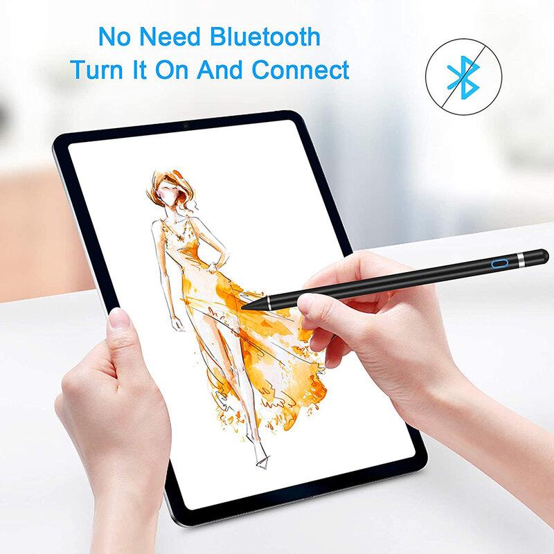 Stylus pen activ Mobster, iOS, Android, cablu de incarcare Micro-USB, negru, JA05