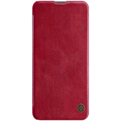 Husa Samsung Galaxy S21 Ultra 5G Nillkin QIN Leather - Rosu
