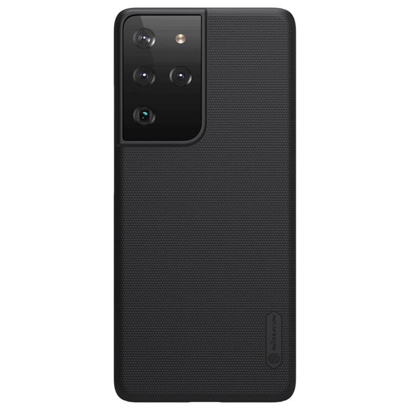 Husa Samsung Galaxy S21 Ultra 5G Nillkin Super Frosted Shield - Black