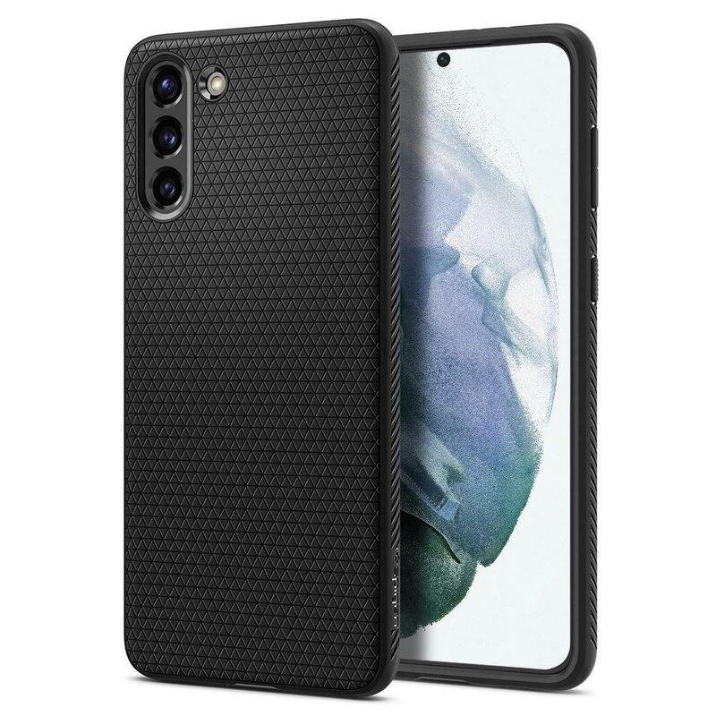 Husa Samsung Galaxy S21 5G Spigen Liquid Air - Matte Black