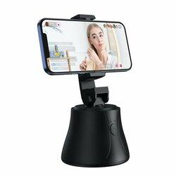 Gimbal Baseus, suport telefon birou 360°, YouTube, TikTok, negru, SUYT-B01
